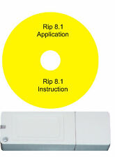 partner rip software 8.1 for  all models epson  dtg flatbed  t-shirts  printers
