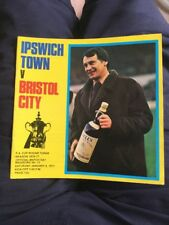 IPSWICH TOWN V BRISTOL CITY 8 JAN 77 FA CUP