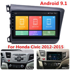 """9"""" Android 9.1 Radio Stereo MP5 GPS 2GB+32GB w/ Canbus For Honda Civic 2012-2015"""