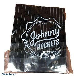 Johnny Rockets American Original Server Waiter Waist Apron 2 Pocket Restaurant