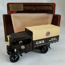 MATCHBOX YESTERYEAR Y27 1922 FODEN STEAM WAGON G.W.R. RAILWAY 150TH  CODE 3