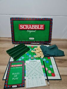 Vintage Original Scrabble Board Game by Spears Games 1988 Edition