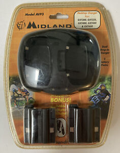 Midland AVP3 DUAL Desktop Battery Charger AC/DC GXT 300 325 400 444 450 NEW