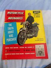 motorcycle mechanics/Triumph21strip& road test /Bella/Gold Star/specials vincent