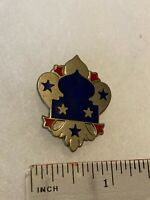 Authentic US Army 5th Army NCBU DI DUI Unit Crest Insignia G23
