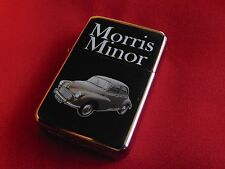 Morris Minor Car Engraved / Impact Printed Fuel STAR Lighter With Gift Box