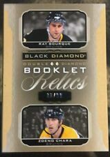 2015-16 Black Diamond Bourque Chara Jersey Booklet 1/1  33/99  Upper Deck 15/16