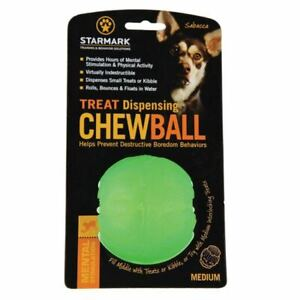 Starmark Treat Dispensing Chew Ball Dog Toy | Dogs