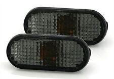 2 CLIGNOTANTS LATERAUX FUME NOIR VW GOLF 3 III (1H1) 2.0