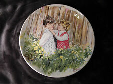 """Vtg*Wedgwood*""""Be My Friend""""*Collectible Plate *By Mary Vickers*Signed"""