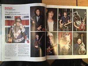 Times Magazine 2014 - Paul Weller Morten Harket Paul McCartney Noel Gallagher