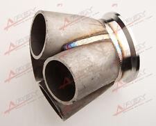 """4-1 4 Cylindres collecteur tête Merge acier inoxydable 3 """" bande en V"""