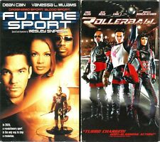 Future Sport VHS  & Rollerball Lot of 2 Tapes Dean Cain Chris Klein LL Cool J R