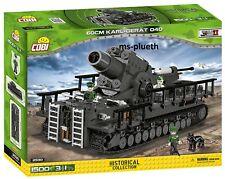 Cobi 2530 - Small Army - WWII 60cm Karl-Gerät 040 - VORBESTELLUNG