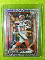 ODELL BECKHAM JR CARD BROWNS JERSEY #6 PRIZM SP /99 REFRACTOR  2019 National VIP