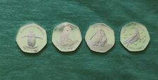Falkland Islands UNC New 2020 50 pence/1/2 pound Penguin 4 Coin Set BEST PRICE!