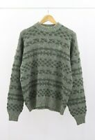 Chemise Lacoste Vintage Wool Blend Sweater  Made in France Devanlay Size 4 / M