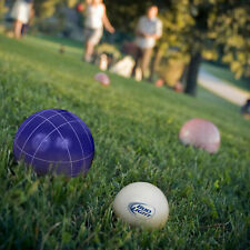 Bocce Ball Set- Regulation Outdoor Family Bocce Game for Backyard, Lawn, Beach