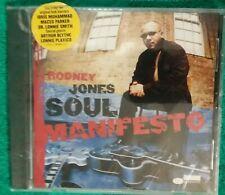 Rodney Jones Soul Manifesto CD 2001  (a17)