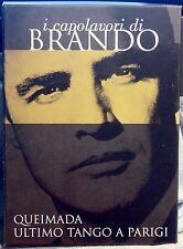 I CAPOLAVORI DI BRANDO - QUEIMADA/ULTIMO TANGO A PARIGI - 2 DVD digipack n.00042