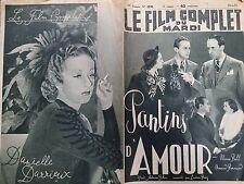 "LE FILM COMPLET 1937  N 1970 "" PANTINS D'AMOUR ""  MARIE BELL et ARMAND BERNARD"