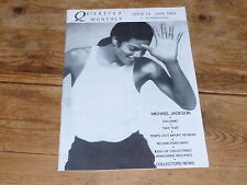 MICHAEL JACKSON - QUICKSTEP MONTLHY MAIL ORDER 1992!! MEGA RARE CATALOGUE!!