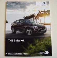 BMW . X6 . The BMW X6 . December 2016 Sales Brochure