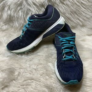 Brooks Ravenna 9 Women's Size 10 B Energize Running Athletic Shoes Navy Blue