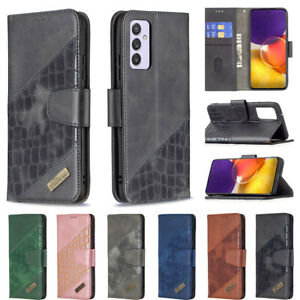 For Samsung Galaxy A91 A82 A71 A52 A32 A22 Luxury Wallet Folding Leather Case