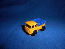 DUMP TRUCK Dumper Tipper Lorry w/FLYWHEEL Friction MOTOR Plastic Kinder Surprise