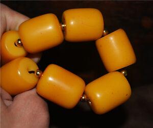 tibetan antique amber bracelet old bakelite mala worry butterscotch prayer beads