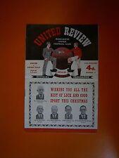 LEAGUE Division One-Manchester United V Aston Villa - 27th DICEMBRE 1954