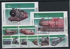 Gambia 873/80 Block 67/68 postfrisch / Eisenbahn ..........................1/341