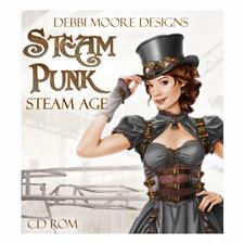 Debbi Moore Diseños Steampunk Vapor edad artesanías CD ROM (329168)
