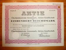 D: E: Überlandzentr. Grenzmark, Flatow, Westpreussen, 100 RM, 1928*