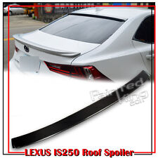 Carbon For Lexus IS350 IS250 4DR D Style Window Roof Spoiler 14-19 F Sport