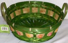 New Large Wicker Gift Basket Supplies Flower Baskets Easter Egg Hunt Playset