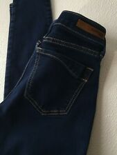 EXPRESS JEANS Legging Denim Stretch Pants Womens Regular 4 Dark Wash Blue Skinny