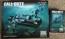 Megablocks Call Of Duty Seal Specialist  CNG72 & Seal Sub Recon CNG80