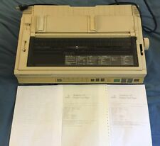 Panasonic KX-P1624 Dot Matrix Wide Form Impact Printer & New Ribbon- Guaranteed!