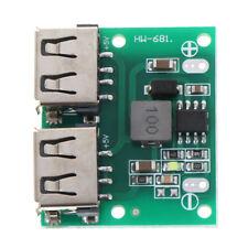 9V 12V 24V to 5V 3A Dual USB DC-DC Charger Power Supply Step Down Mod IY