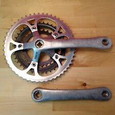1990 Sakae 175mm Triple road bicycle Crankset 50/38/28T Touring Q1