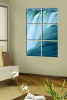 Canvas Art Prints - Waterfall on Canvas - Office Wall Décor - Framed Artwork