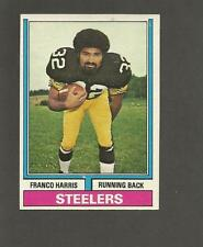 1974 Topps # 220 Franco Harris Pittsburgh Steelers 1974 Topps Original Football