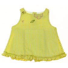 Natalys robe vichy  fille  6 mois