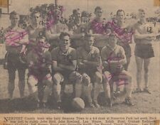 NEWPORT COUNTY TEAM PHOTO 60 s AUTOGRAPHED