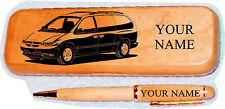 Chrysler Minivan Late Model  Maple wood Pen & Case Engraved