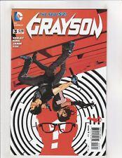 Grayson DC Comics #3 VF 8.0 New 52 Nightwing Batman 2014