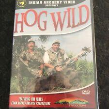 Indian Archery Video Hog Wild Hunting DVD Stoney Wolf Productions Jim Jones