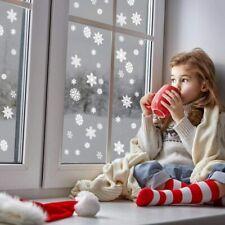lEPECQ 108 PCS Christmas Decorations Snowflake Window Sticker Set of 4 Sheet...